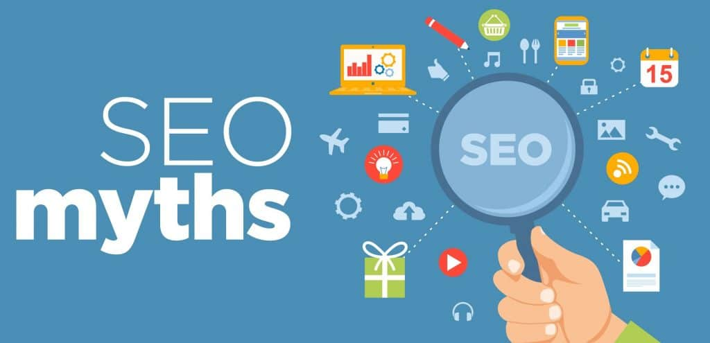 SEO Myths-website ranking-2021