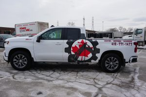 Chevy Silverado RST - Pickup Truck -2021 – - Advertise your business - Toronto - Decals - Commercial Decals